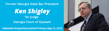 Ken Shigley for Judge Georgia Court of Appeals